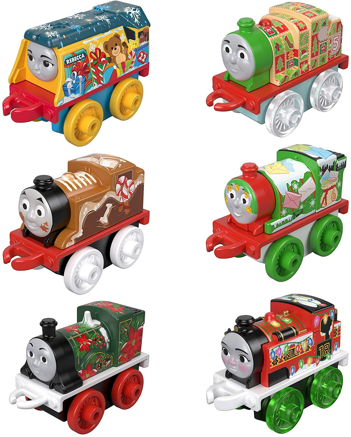 Calendrier de l'avent Thomas Friends